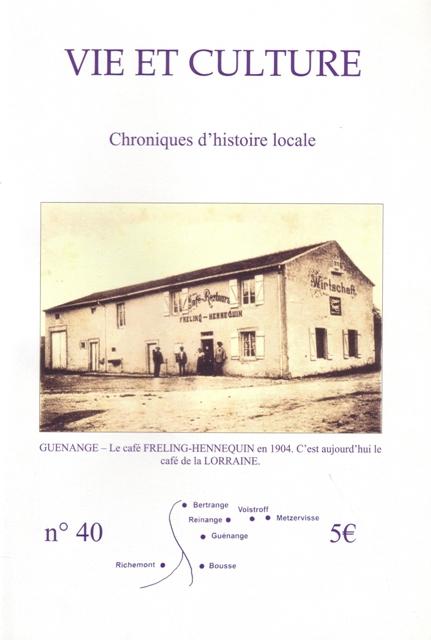 Chroniques n°40